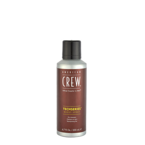 American crew Techseries Boost Spray Dry shampoo 200ml - shampooing sec