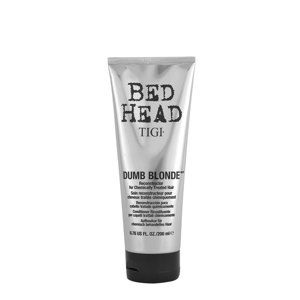 Tigi Bed Head Dumb Blonde Reconstructor 200ml - après-shampooing cheveux traités blondes