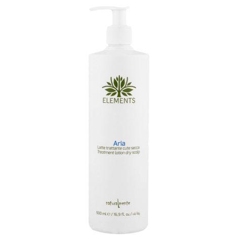 Naturalmente Elements Aria Treatment Lotion dry scalp 500ml - Lait Traitement peau Sèche