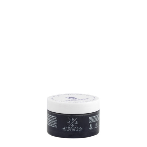 Naturalmente Gentleman Light Hair Wax 100ml - Cire Cheveux