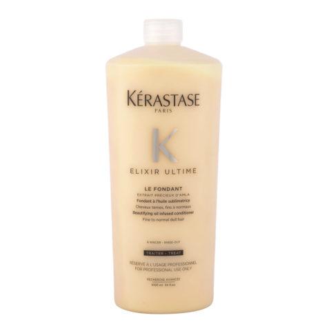 Kerastase Elixir Ultime Le Fondant 1000ml - Apres Shampooing Hydratant