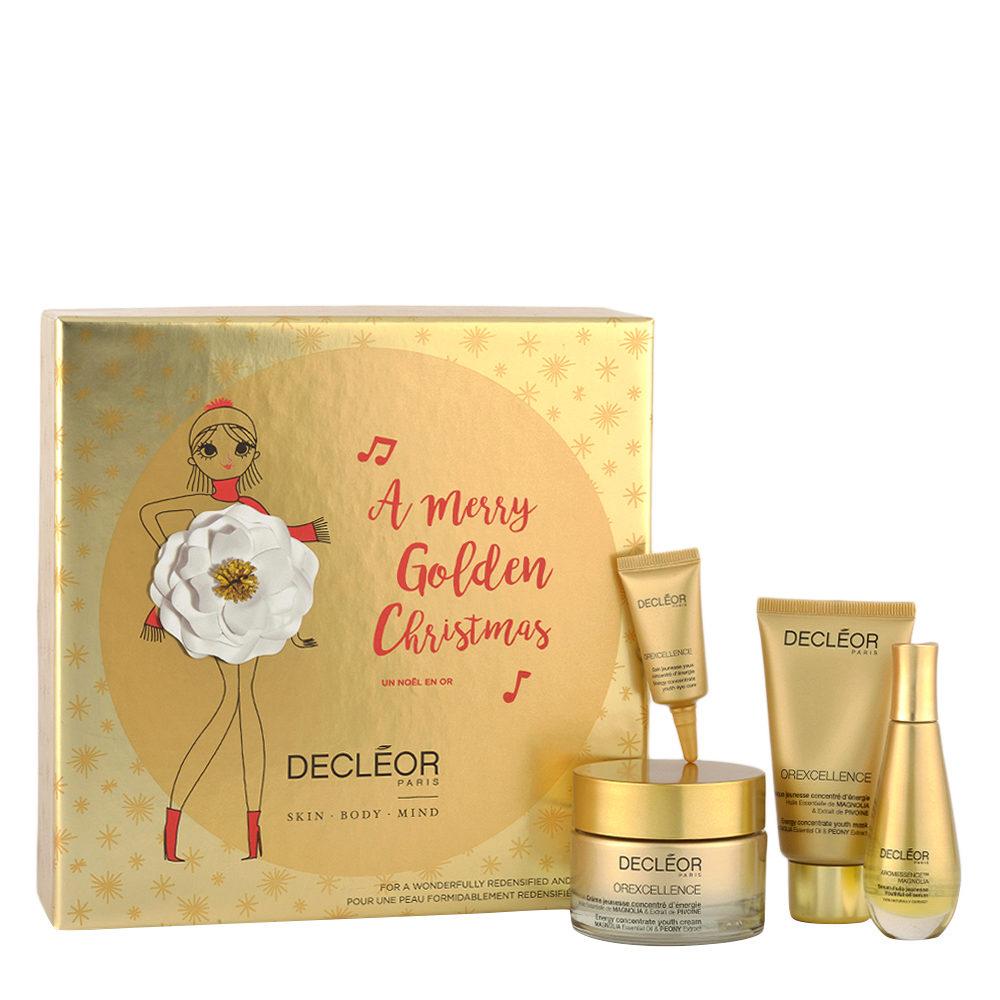 Decléor A Merry Golden Christmas pour une redensifiee et rebondie