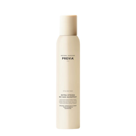 Previa Extra strong no gas hairspray 200ml - laque écologique extra forte