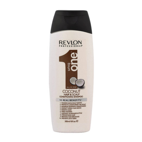Uniq One Coconut Hair and scalp Conditioning shampoo 300ml - shampooing et apres-shampooing