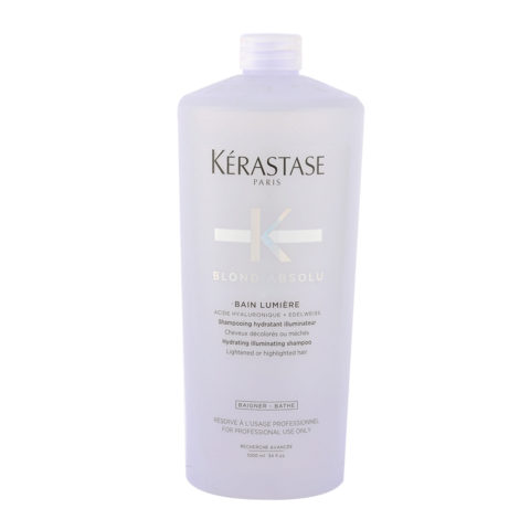 Kerastase Blond Absolu Bain lumiere 1000ml - shampooing illuminateur cheveux blondes