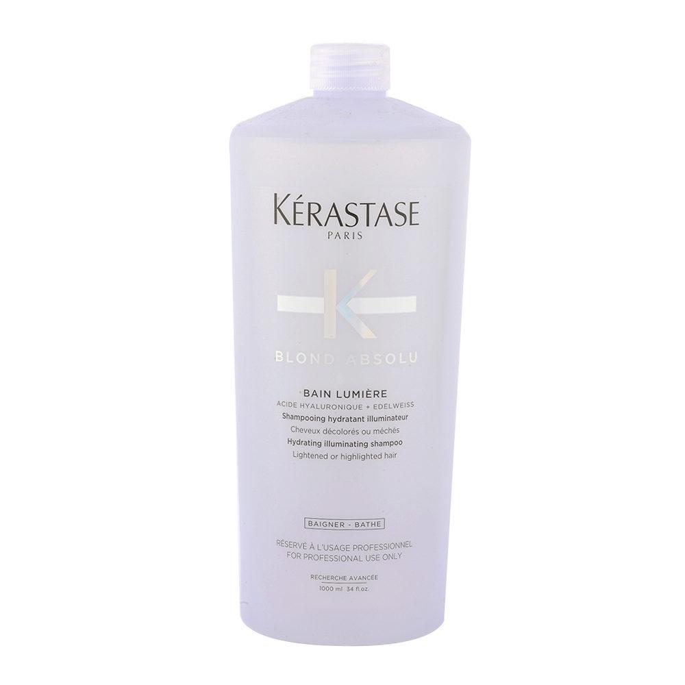 Kerastase Blond Absolu Bain lumiere 1000ml - shampooing illuminateur cheveux blondes