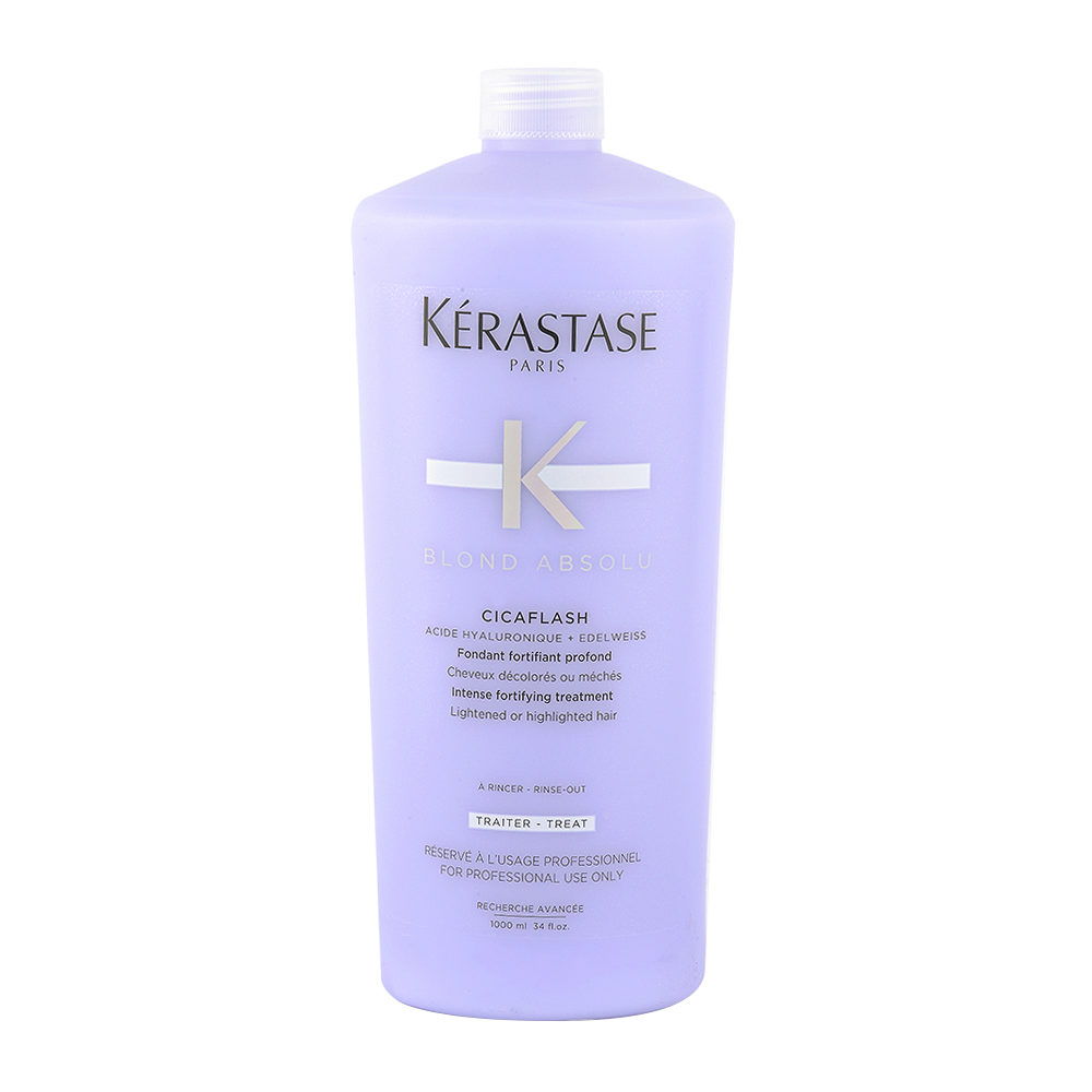 Kerastase Blond Absolu Cicaflash 1000ml - fondant fortifiant hydratant cheveux blond