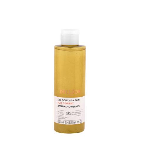 Decléor Shower Gel Douche & bain Rose D'Orient 250ml - Gel douche rose orientale