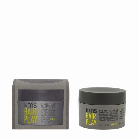 KMS Hair Play Hybrid Claywax 50ml - Cire Cheveux