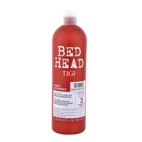 Tigi Urban Antidotes Resurrection Conditioner 750ml - après-shampooing restructurant niveau 3