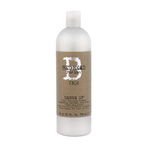 Tigi Bed Head For Men Dense Up 750ml - shampooing densifiant