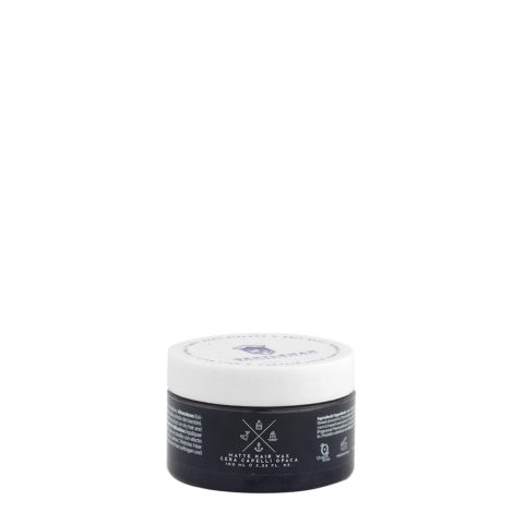 Naturalmente Gentleman Matte Hair Wax 100ml - Pate Mat