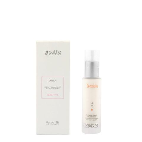 Naturalmente Breathe Sensitive Cream 50ml - Crème visage Hydratante Pour Peaux Sensibles