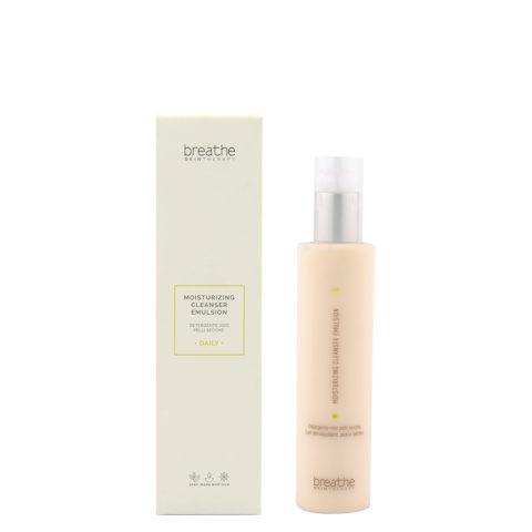 Naturalmente Breathe Moisturizing Cleanser Emulsion 200ml - Nettoyant Pour Le Visage Peaux Sèches