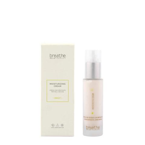Naturalmente Breathe Moisturizing Cream 50ml - Crème Visage Hydratante Pour Peaux Sèches