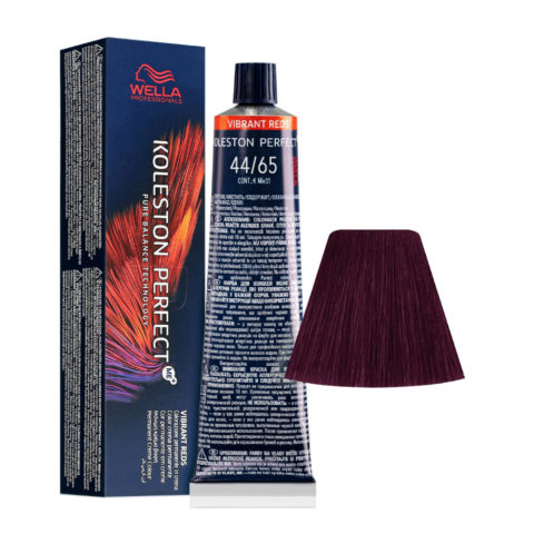 44/65 Châtain moyen Intense Acajou Intense Wella Koleston perfect Me+ Vibrant Reds 60ml