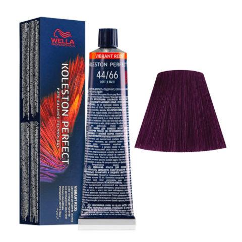 44/66 Châtain Moyen Intense Violet Intense Wella Koleston perfect Me+ Vibrant Reds 60ml