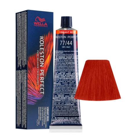 77/44 Blond Moyen Intense Cuivré Intense Wella Koleston perfect Vibrant Reds 60ml