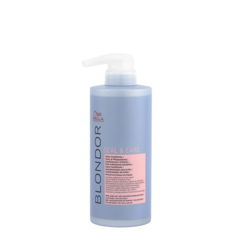 Wella Blonde Seal and Care Shine Conditioner 500ml - Conditioner Luminosité Après Décoloration