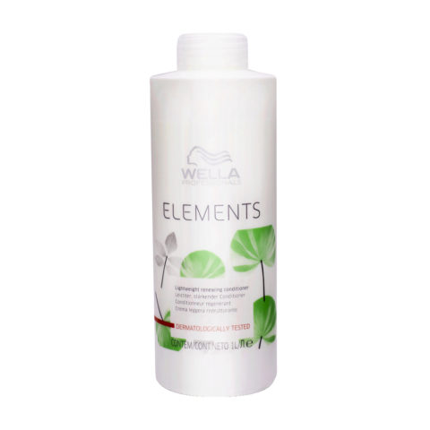 Wella Professional Elements Lightweight Renewing Conditioner 1000ml - après-shampooing