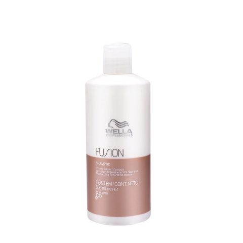 Wella Fusion Shampoo 500ml - shampooing réparation intense