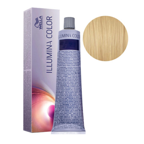 10/36 Blond Très Très Clair Doré Violet Wella Illumina Color 60ml