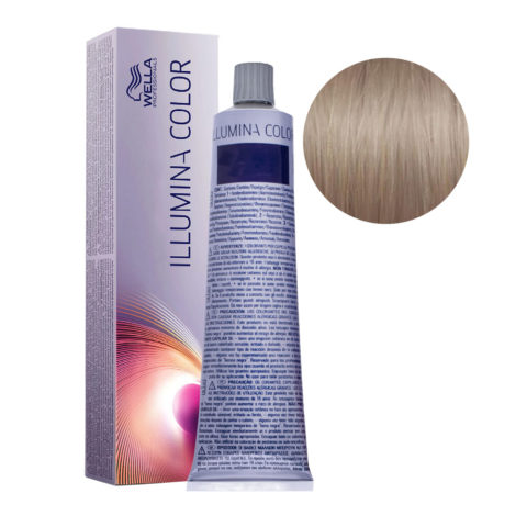 8/13 Blond Clair Doré Cendré Wella Illumina Color 60ml