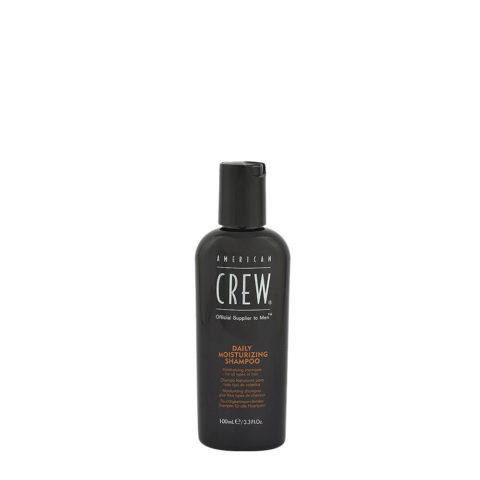 American crew Classic Daily moisturizing shampoo 100ml