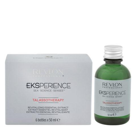 Eksperience Talassotherapy Revitalizing Essential Extract 6x50ml - Pour Des Cheveux Fins