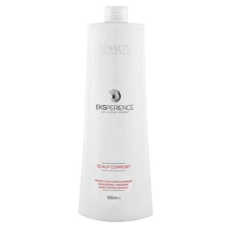 Eksperience Scalp Comfort Dermo Calm Cleanser Shampoo 1000ml - Pour Cuir Chevelu Sensible
