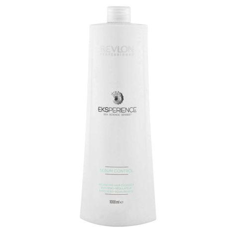 Eksperience Sebum Control Balancing Cleanser Shampoo 1000ml - Pour Cuir Chevelu Graisse