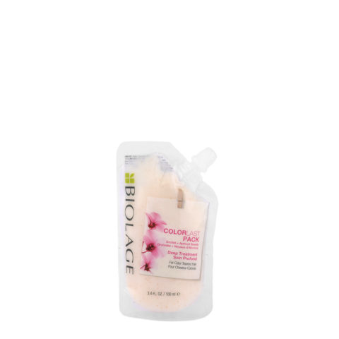 Biolage Colorlast Pack Deep treatment 100ml - Masque cheveux Traités