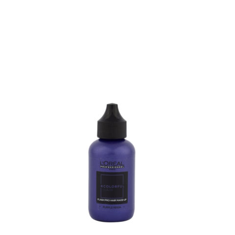 L'oreal Colorful hair Flash Purple Reign 60ml - coloration violette temporaire