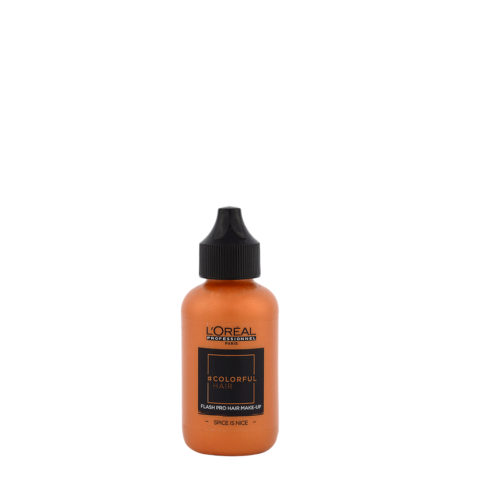 L'oreal Colorful hair Flash Spice Is Nice 60ml - coloration orange temporaire