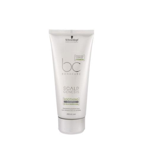 Schwarzkopf BC Bonacure Scalp Genesis Soothing Shampoo 200ml - shampooing pour peau sensibles