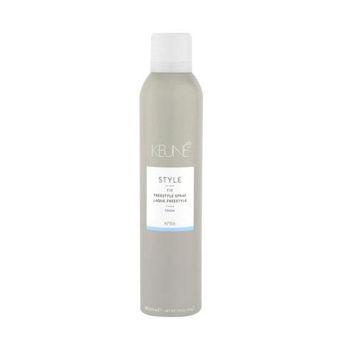Keune Style Fix Freestyle Spray N.86, 300ml - laque tenue forte