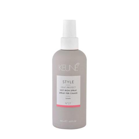 Keune Style Heat protect Hot Iron Spray N.27, 200ml