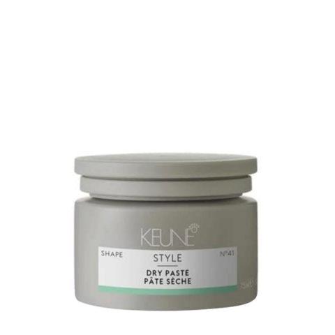Keune Style Dry Paste N.41, 75ml - cire texturisant