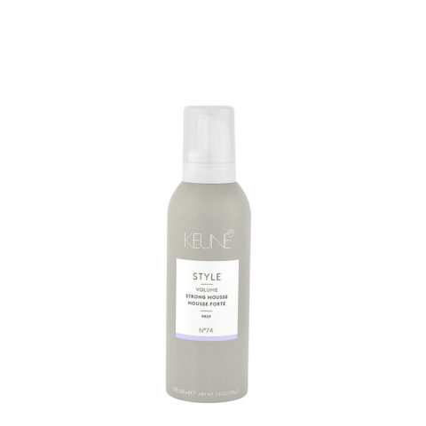 Keune Style Volume Strong Mousse N.74, 200ml - mousse volumisante fort