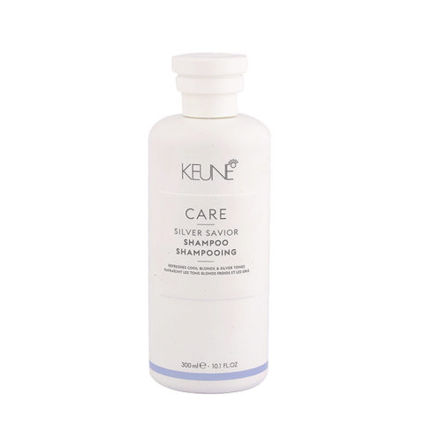 Keune Care line Silver savior Shampoo 300ml - Shampooing Anti Jaunissant