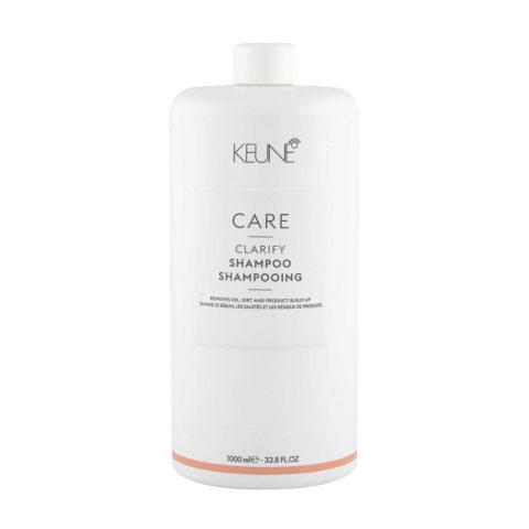 Keune Care line Clarify Shampoo 1000ml - Shampooing Purifiant