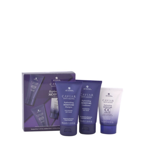Alterna Caviar Replenishing Moisture Kit de Voyage hydratant