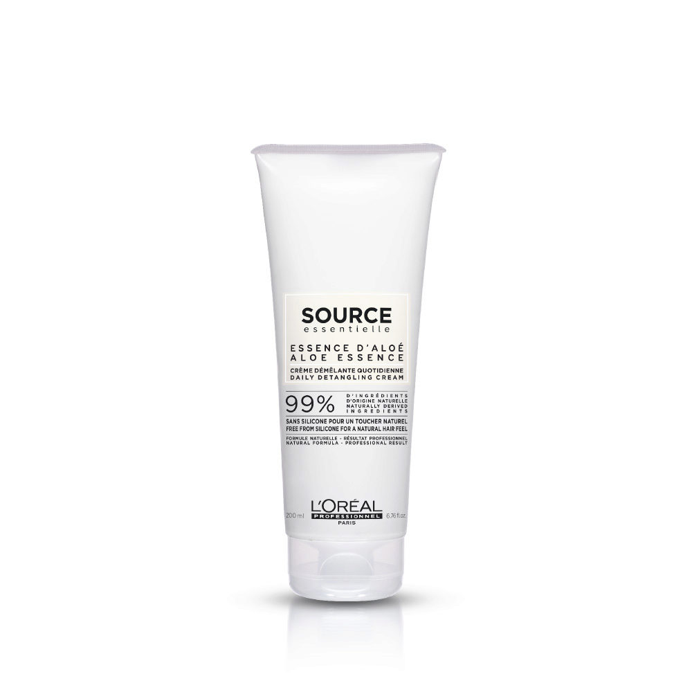 L'Oréal Source Essentielle Essence d'aloé Crème démêlante quotidienne 200ml