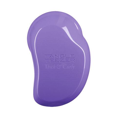 Tangle Teezer Thick & Curly Lilac Fondant hairbrush - Cheveux épais, bouclés et crépus