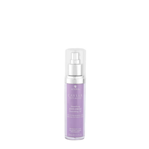 Alterna Caviar Smoothing Anti-Frizz Nourishing Oil 50ml - huile hydratante anti-frisottis