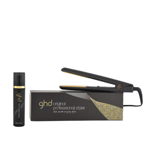 GHD Kit Lisseur Original Black Heat protect spray 120ml