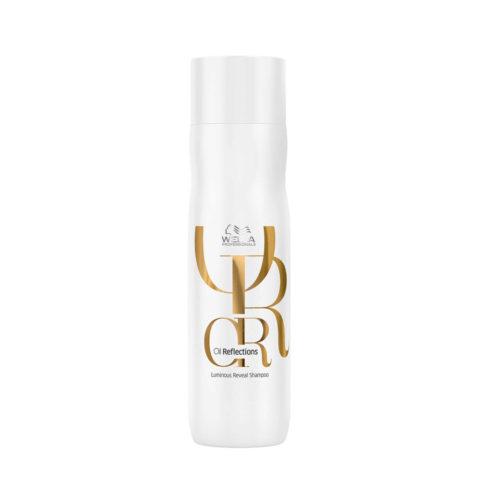 Wella Oil Reflections Shampoo 250ml - Shampooing Illuminant