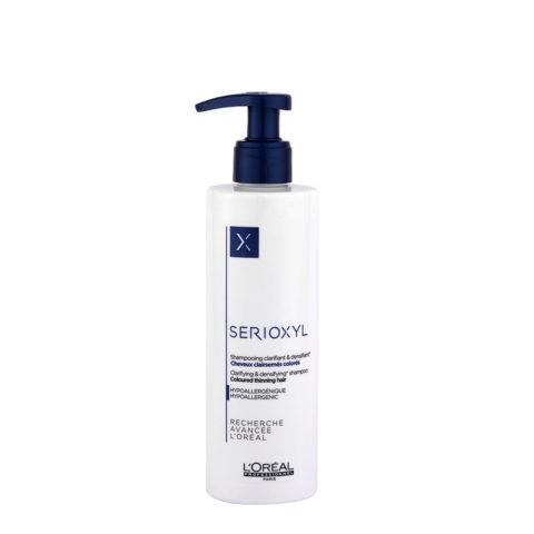 L'Oreal Serioxyl Clarifying densifying Shampoo 250ml - redensifiant pour cheveux colorés
