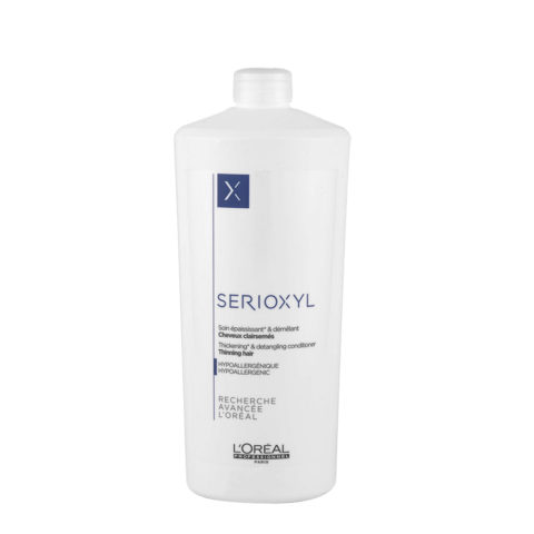 L'Oreal Serioxyl Thickening Conditioner 1000ml - Baume volume et démêlant
