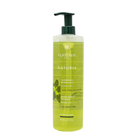 René Furterer Naturia Shampooing Extra Doux 600ml - Usage Fréquent